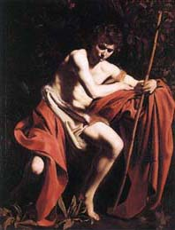 Safe answer st john the baptist caravaggio